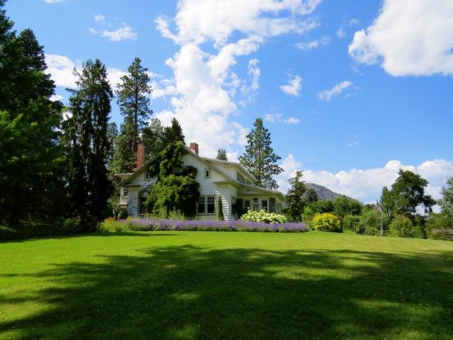 Bild Haus mit Garten